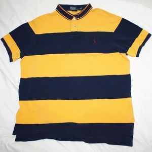 Polo By Ralph Lauren Mens Short Sleeve Polo Shirt